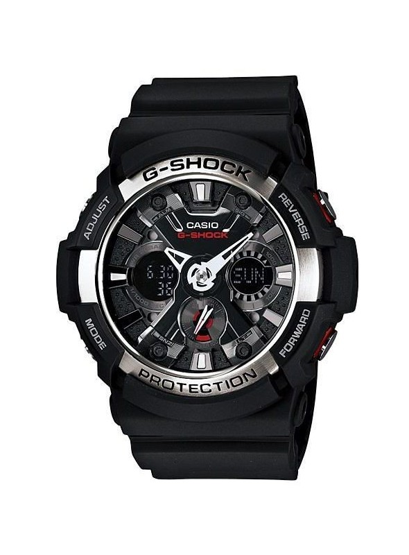 d243a13f4d030 Casio G-Shock for Men - Analog - Digital Resin Band Watch - GA-200-1A